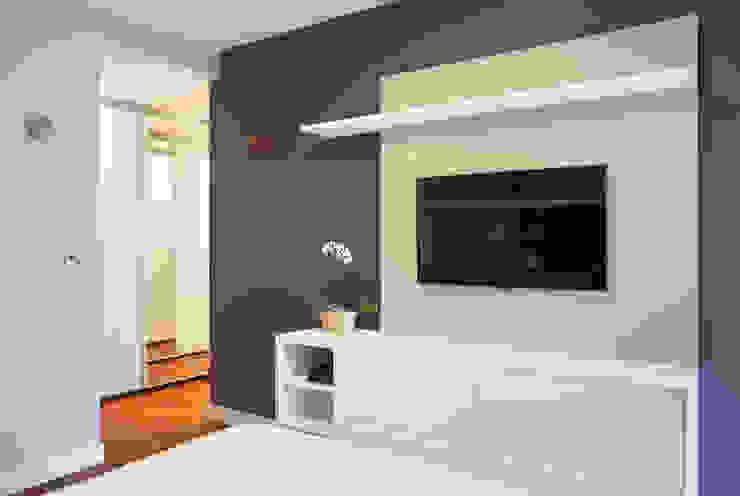 Isabela Lavenère Arquitetura Moderne Schlafzimmer