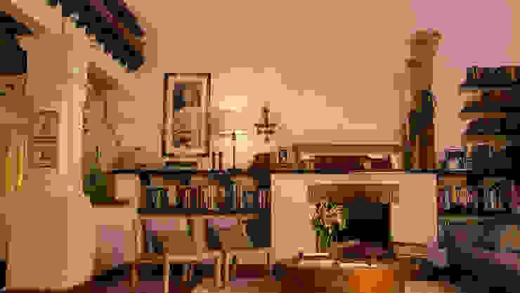 Sala antes de adornarla para Navidad. de MARIANGEL COGHLAN