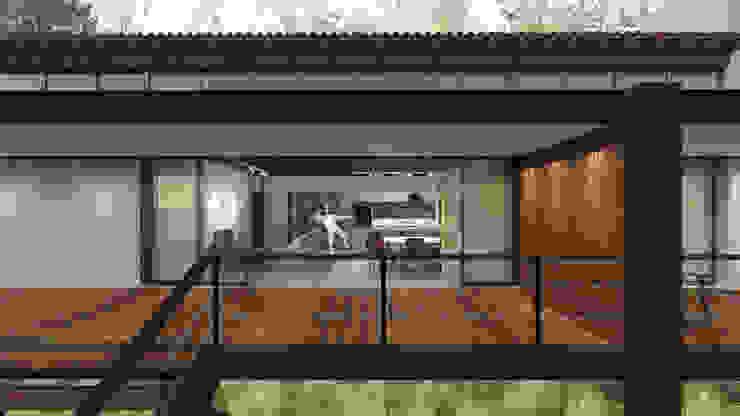 Casa ZED Casas modernas por BORA Arquitetos Associados Moderno