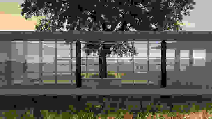 Casa RR Casas modernas por BORA Arquitetos Associados Moderno