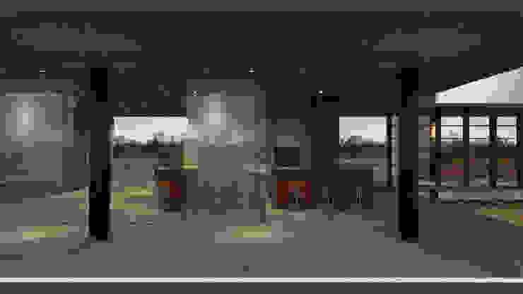 Casa RR Cozinhas modernas por BORA Arquitetos Associados Moderno