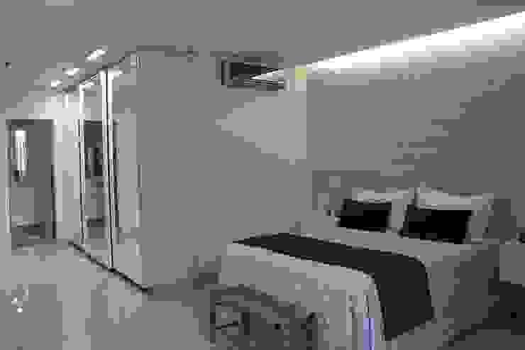 Habitaciones modernas de FAGM Arquitetos Moderno