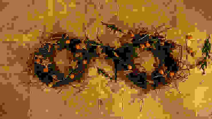 Iniciando con el centro de mesa navideño. de MARIANGEL COGHLAN