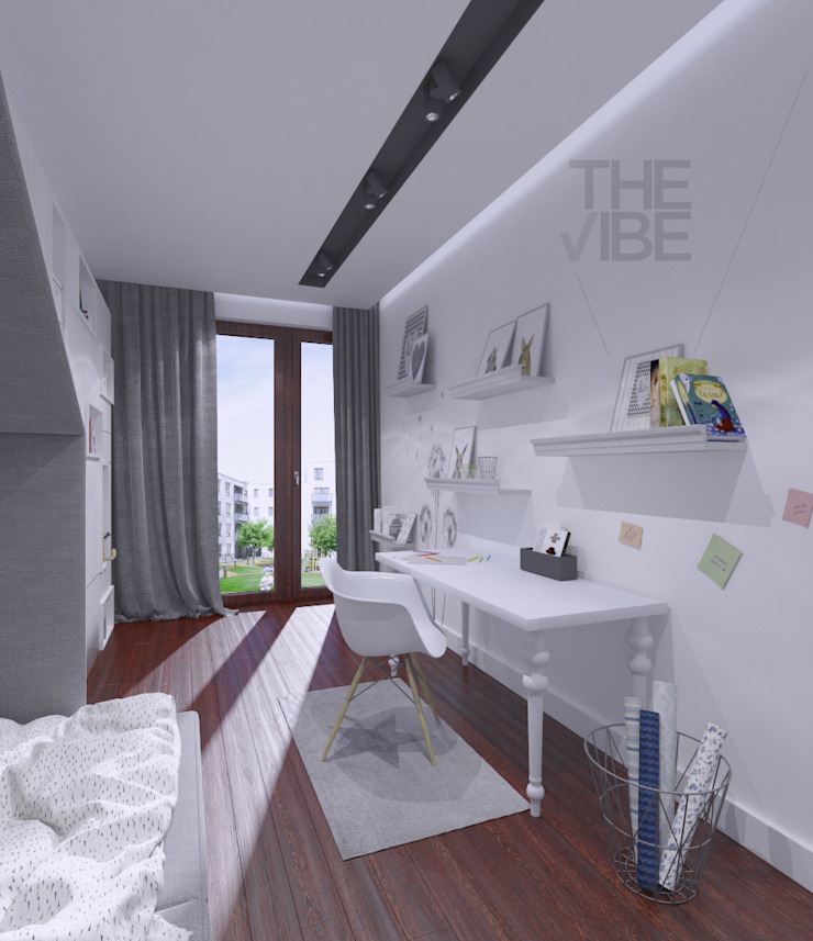 The Vibe Modern nursery/kids room