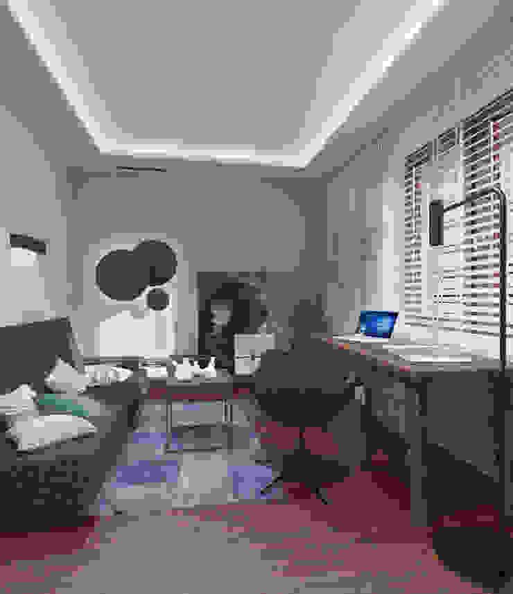 The Vibe 现代客厅設計點子、靈感 & 圖片