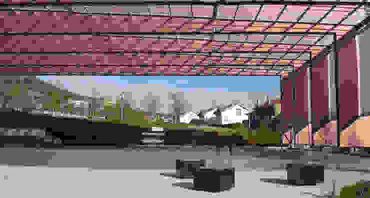 Jardin moderne par asieracuriola arquitectos en San Sebastian Moderne Bois Effet bois
