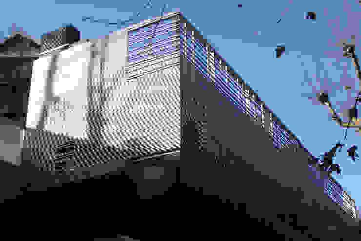 Casas estilo moderno: ideas, arquitectura e imágenes de asieracuriola arquitectos en San Sebastian Moderno Aluminio/Cinc