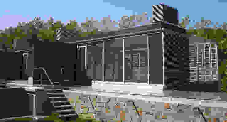 โดย asieracuriola arquitectos en San Sebastian โมเดิร์น หิน