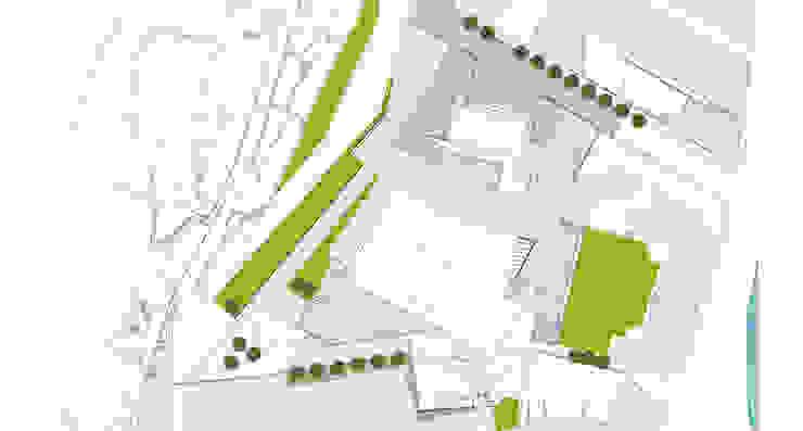 Plano de Emplazamiento:  de estilo  de asieracuriola arquitectos en San Sebastian