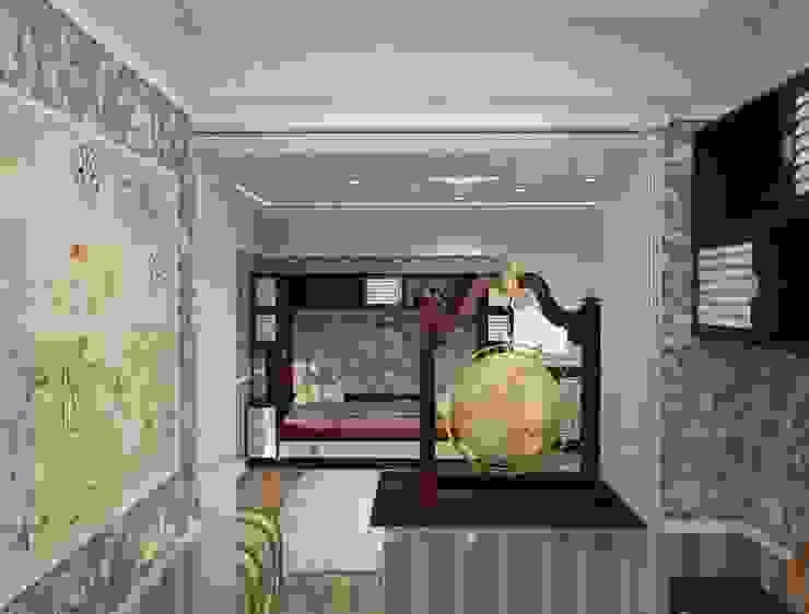 Детская комната для мальчика Детская комнатa в классическом стиле от DONJON Классический