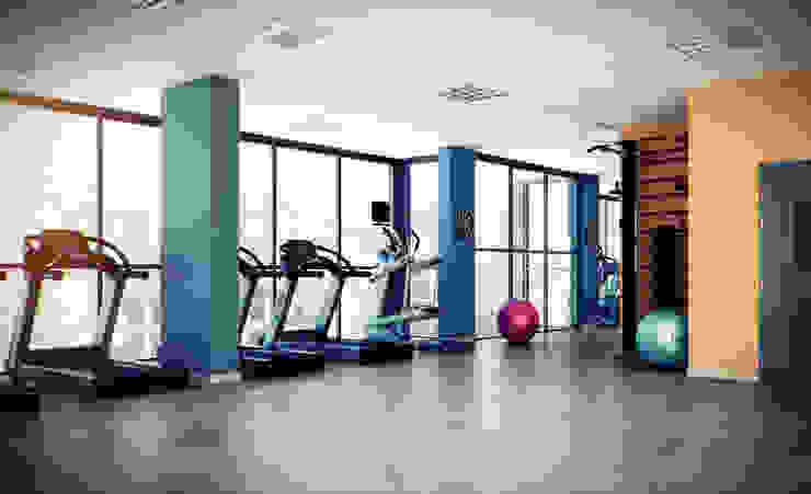 Erhan 3D Works – Spor Salonu: modern tarz , Modern