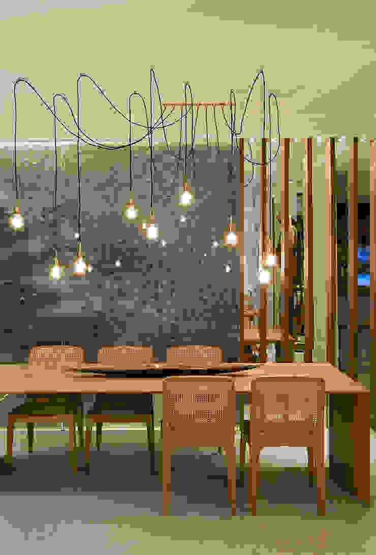 Cozinha Gourmet Casa Cor ES Salas de jantar modernas por daniela andrade arquitetura Moderno