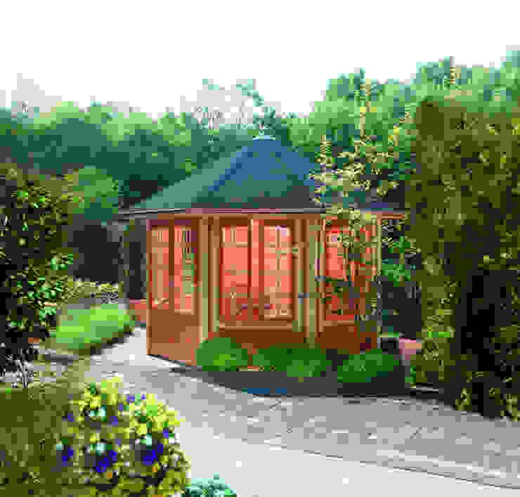 Gartenhaus2000 GmbH Taman Klasik Kayu