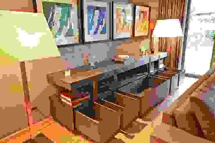 Kerim Çarmıklı İç Mimarlık Living roomCupboards & sideboards