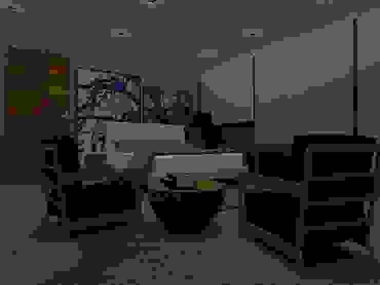 Projectos y Espacios Salones modernos de Detalle Cúbico Moderno
