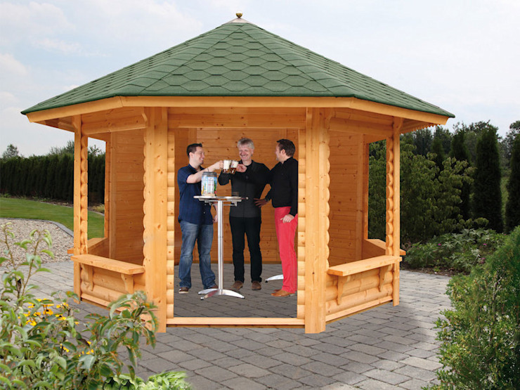 Taman Klasik Oleh Gartenhaus2000 GmbH Klasik Kayu Wood effect