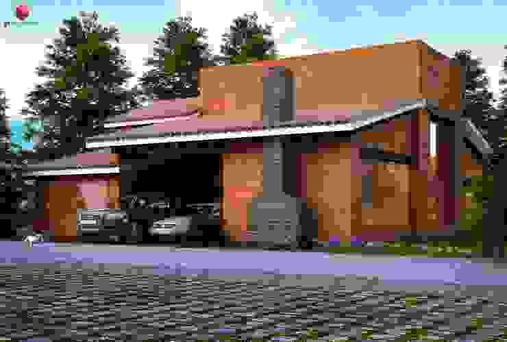 Projectos y Espacios Casas modernas de 3harquitectos Moderno