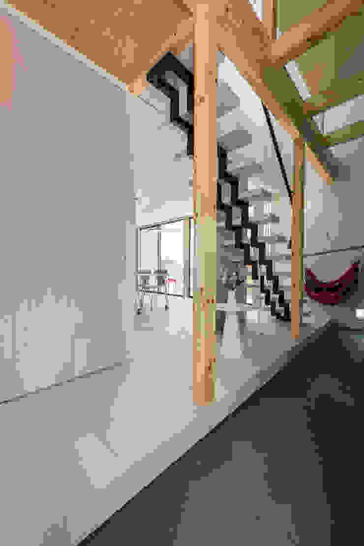 東員の家 モダンスタイルの 玄関&廊下&階段 の ダトリエ一級建築士事務所 LLC モダン