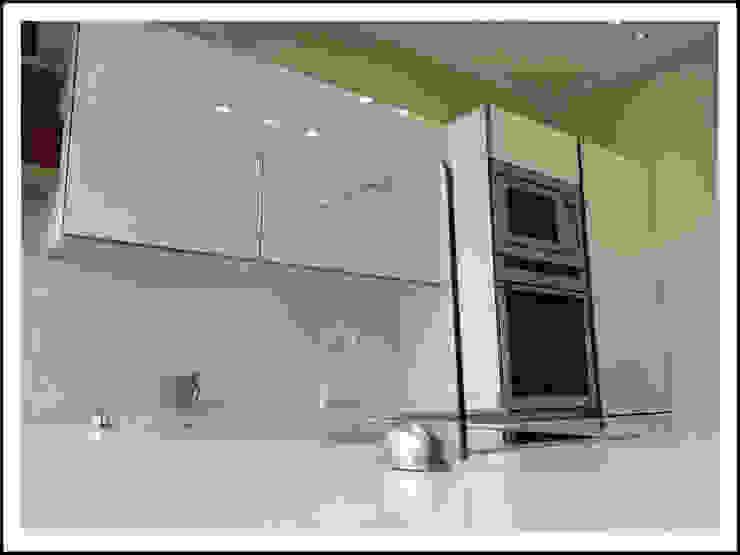 Formarredo Due design 1967 Modern kitchen Glass White