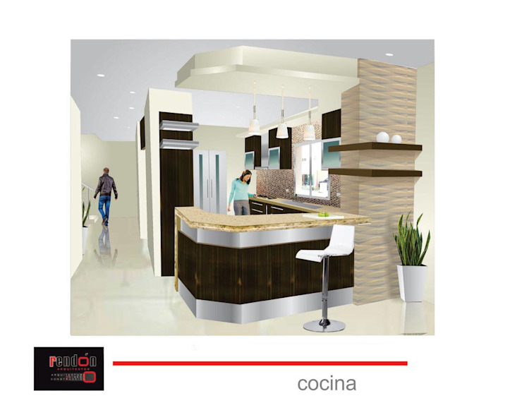 Cocinas Cocinas clásicas de ro_arquitectos Clásico