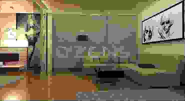 Göktürk Konutu Modern Oturma Odası QZENS MOBİLYA Modern