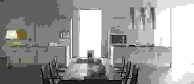 Orgánica Cocinas de estilo moderno de ARCE FLORIDA Moderno Madera Acabado en madera