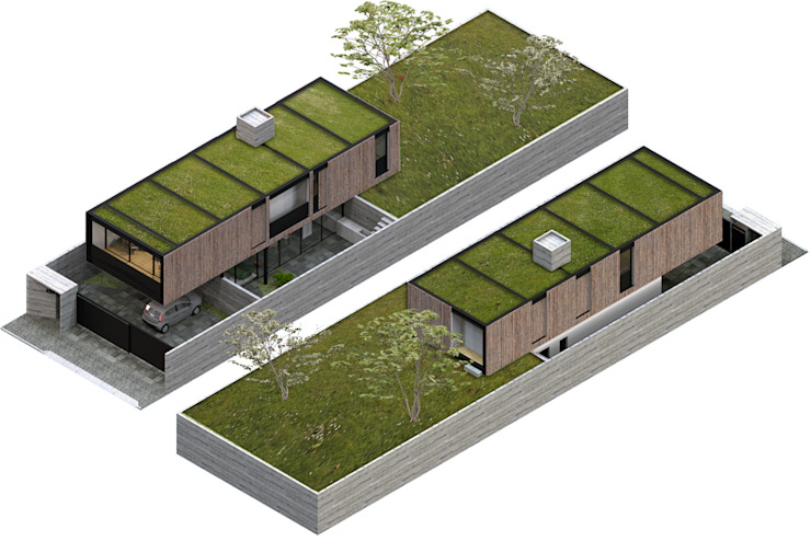 modern  by Commune Arquitetura, Modern
