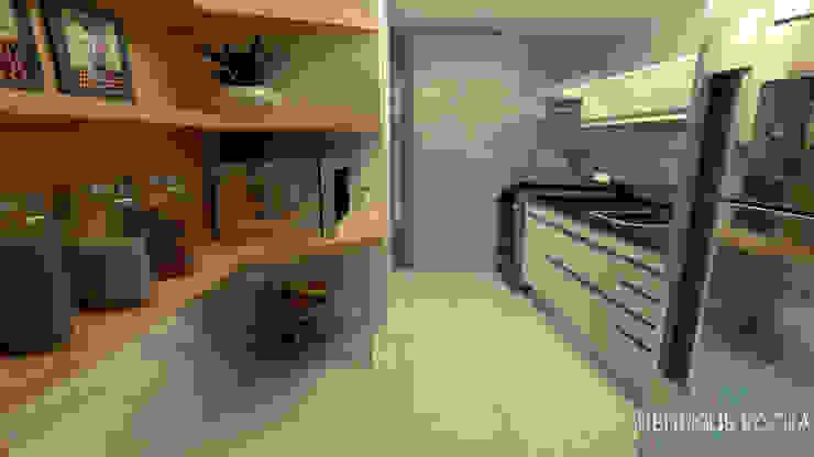 Cozinha Cozinhas modernas por Henrique Rocha Arquitetura Moderno MDF