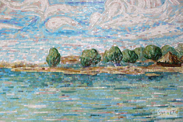 «Морской пейзаж» от Мастерская художественной мозаики 'SMALTO' Классический