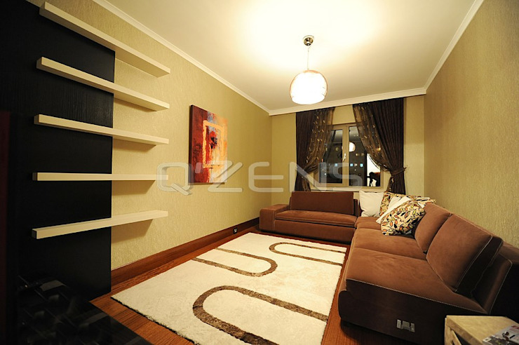 Park Yıldız Konutları Modern Oturma Odası QZENS MOBİLYA Modern