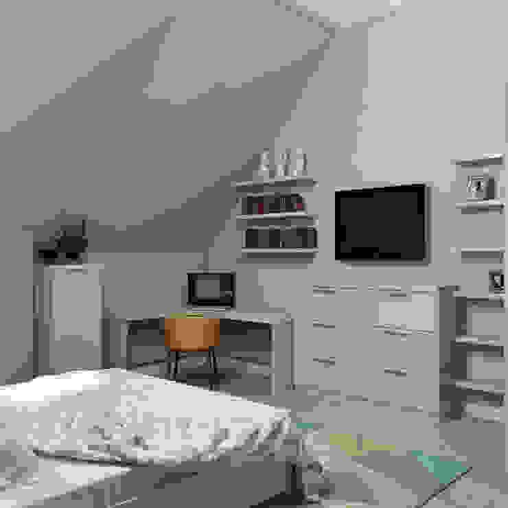 Dormitorios de estilo  por homify , Minimalista