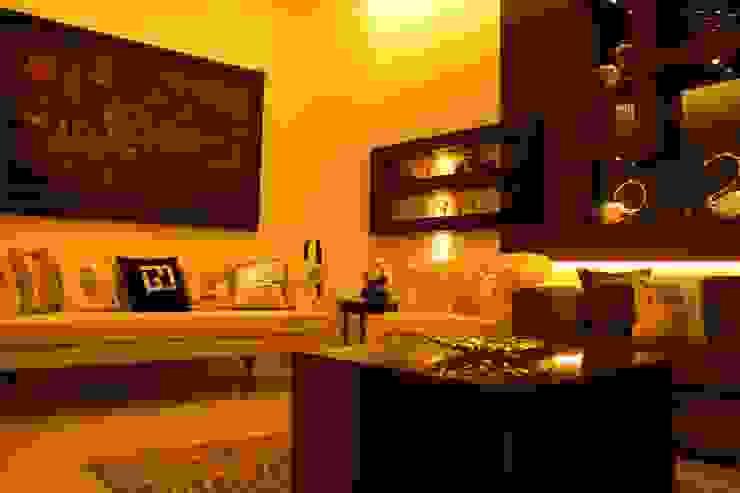 Saraswat's House Minimalist living room by Design Square Minimalist
