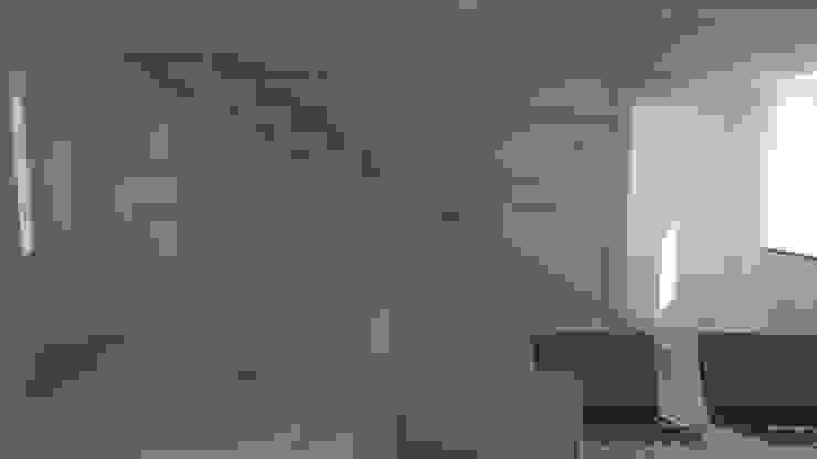 Realizzazioni Sergio Guastella STUDIO97 Pasillos, vestíbulos y escaleras modernos