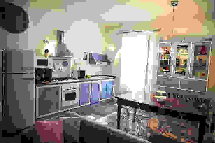 Casa Privata 2008 - Roma San Giovanni Mostarda Design Cucina moderna