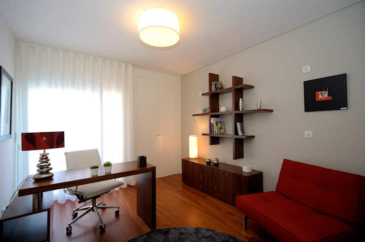 Apartamento Modelo no Edifício ALVALATRIUM por Espaço de Ideias