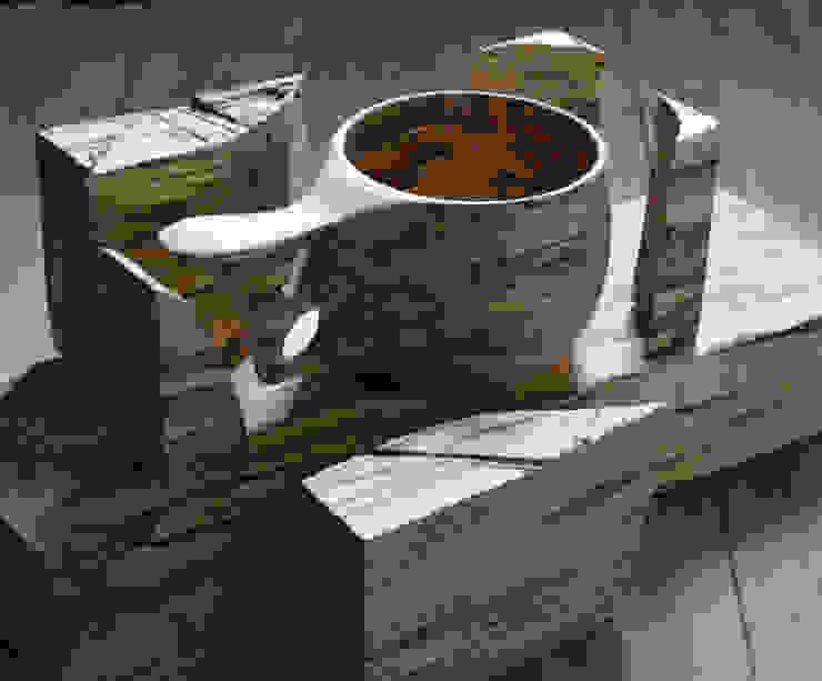 モミジ(スポルト杢)のマグ: atelier dehorsが手掛けたスカンジナビアです。,北欧 木 木目調