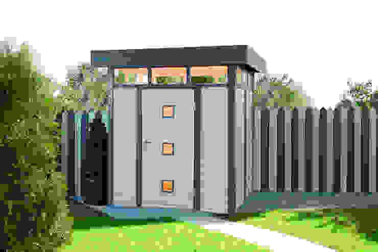 Garage / Hangar classiques par Gartenhaus2000 GmbH Classique Bois Effet bois