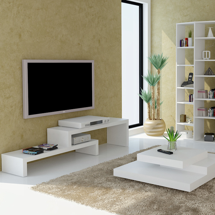 TAHANEA Living roomTV stands & cabinets White