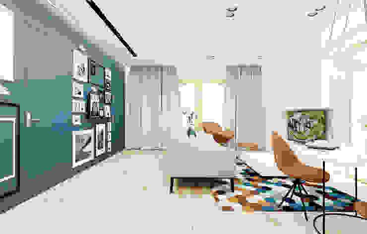 Salas de estilo moderno de Ale design Grzegorz Grzywacz Moderno