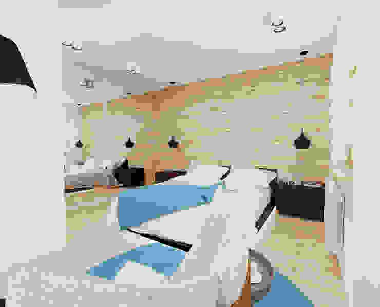 Modern style bedroom by Ale design Grzegorz Grzywacz Modern