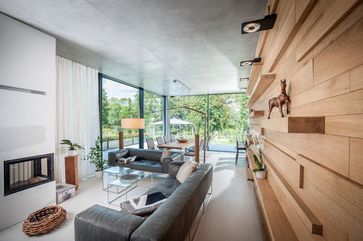 Living room by SEHW Architektur GmbH, Modern