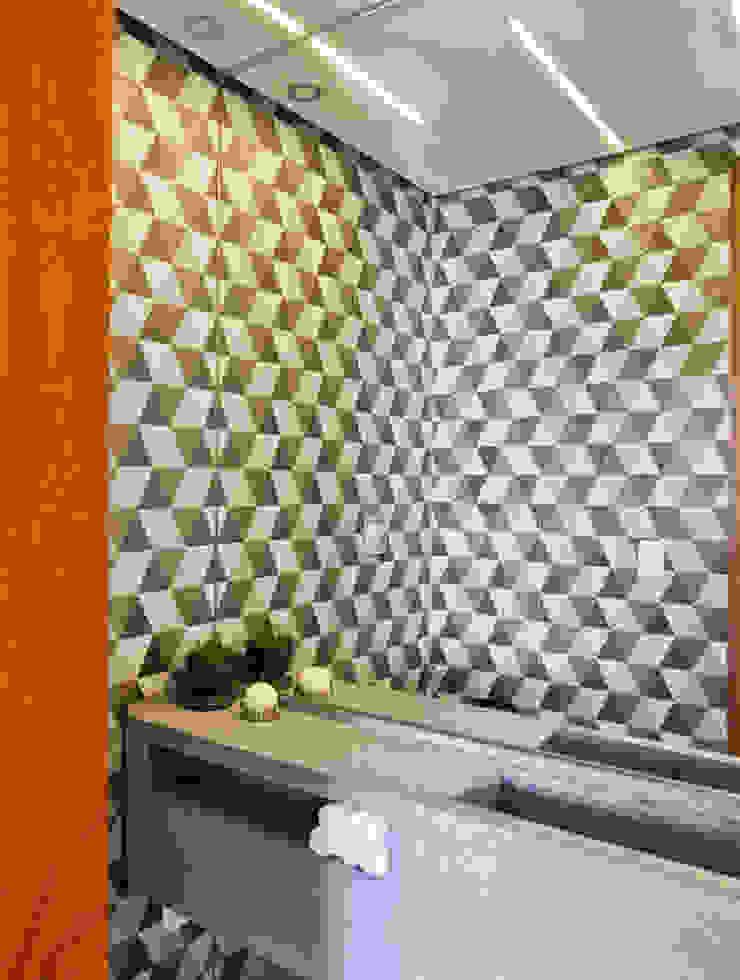 APARTAMENTO JARDINS Banheiros modernos por Tria Arquitetura Moderno