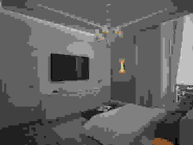 Diseño de Habitación Moderna Cuartos de estilo moderno de Gabriela Afonso Moderno