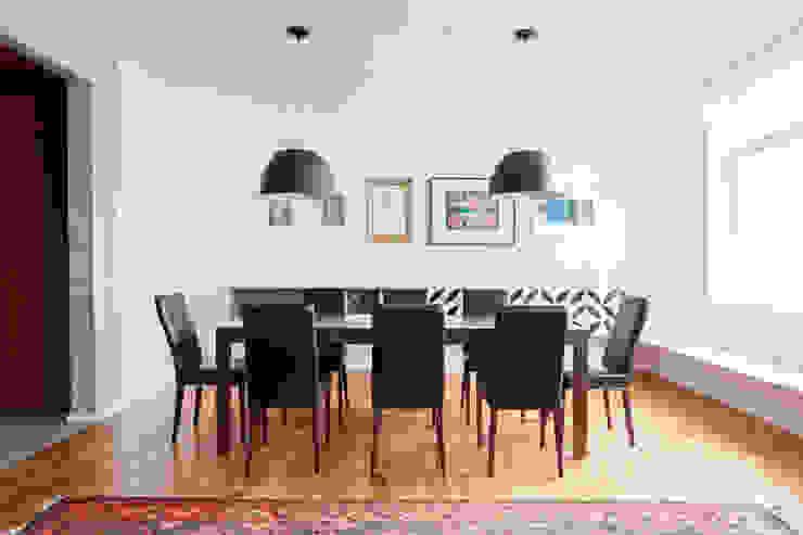 APARTAMENTO JARDINS Salas de jantar modernas por Tria Arquitetura Moderno