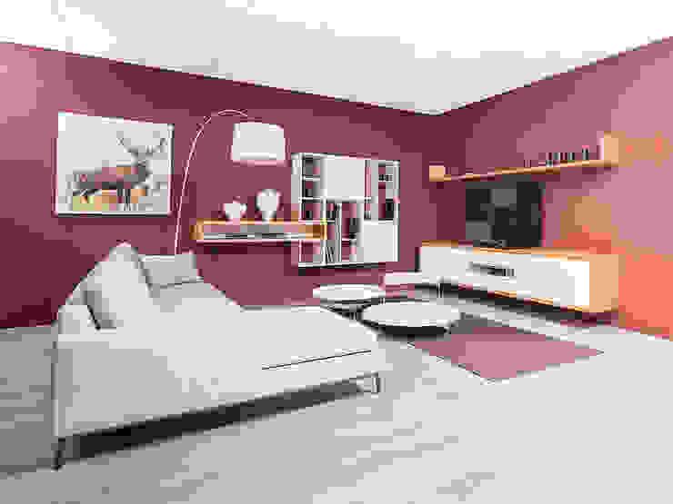 Wohnzimmer Гостиная в стиле модерн от Böhm-Mitsch GmbH Модерн