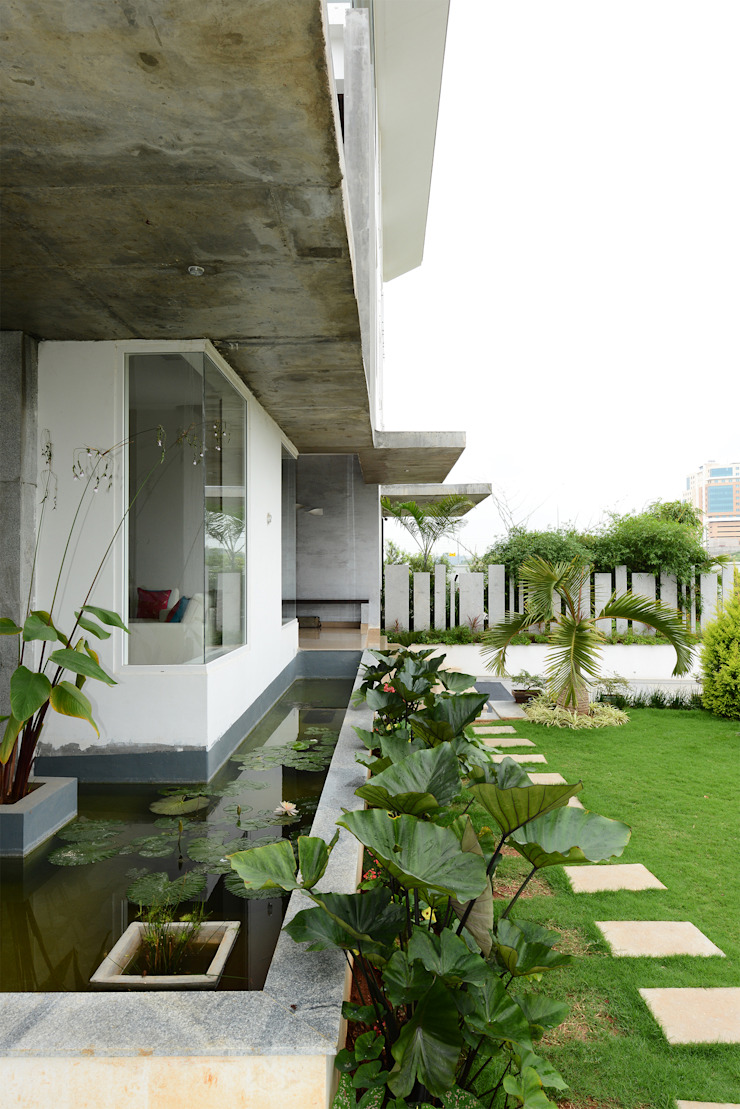 Residential Bungalow Modern houses by NA ARCHITECTS Modern