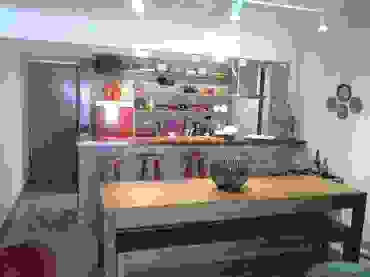 Arquitetura de Interiores Cozinhas rústicas por Architelier Arquitetura e Urbanismo Rústico