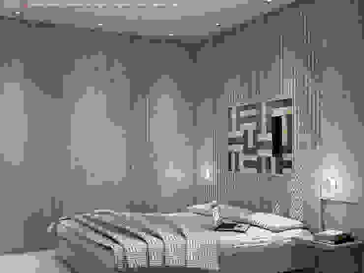 Ristrutturazione Appartamento 56mq Camera da letto moderna di 3D Graphic System Moderno
