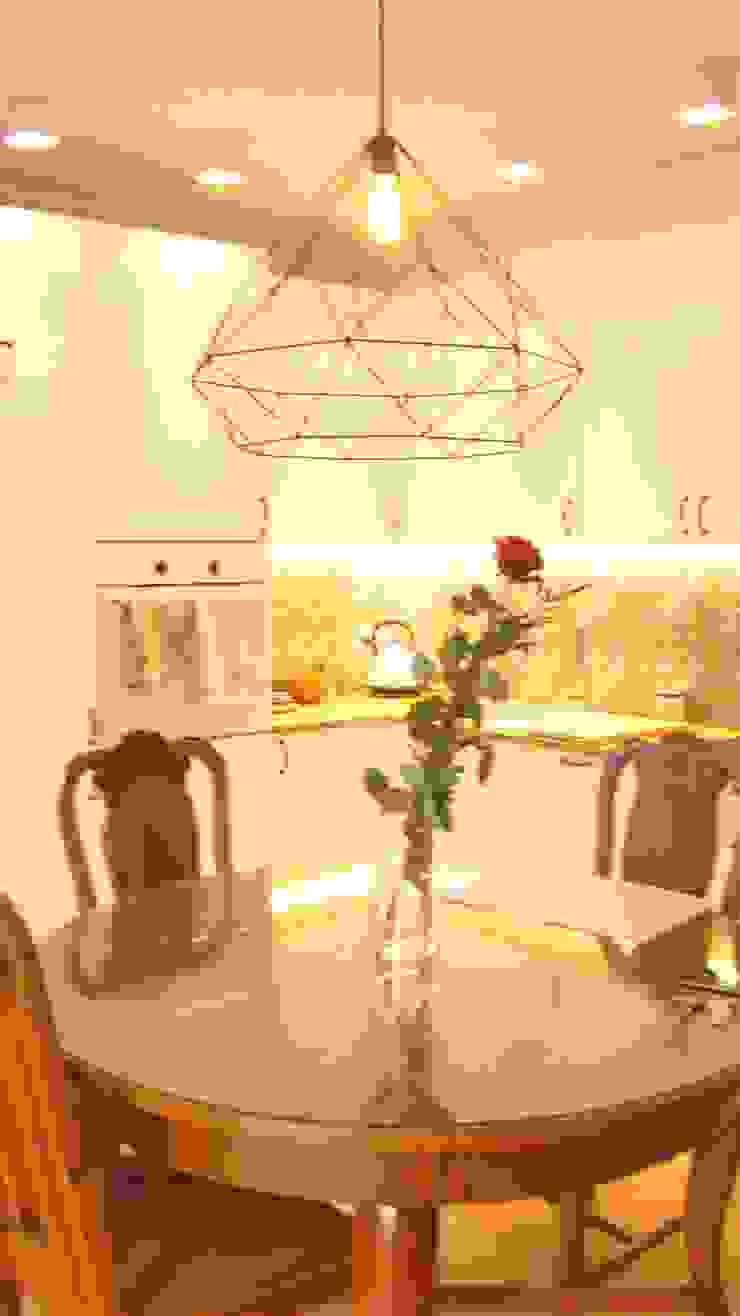 mieszkanie Plewiska Klasyczna kuchnia od Kara design. Pracownia Projektowa Karolina Pruszewicz Klasyczny