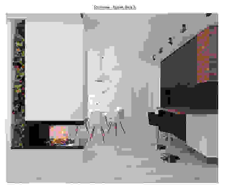 чистый проект Гостиная в стиле минимализм от Circus28_interior Минимализм
